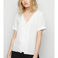 tall-off-white-lattice-front-shirt-new-look