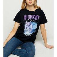 black-midnight-rises-wolf-rock-slogan-rock-tshirt-new-look