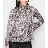cameo-rose-black-snake-print-tie-neck-blouse-new-look