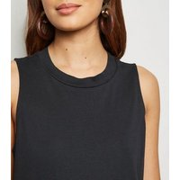 Noisy May Black Sleeveless Midi Dress New Look