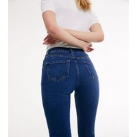 Tall Blue Skinny Jeans New Look