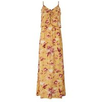 Tall Mustard Tropical Print Maxi Dress New Look