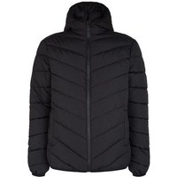 Black Long Sleeve Puffer Jacket New Look