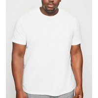 Plus Size White Crew Neck T-Shirt New Look