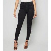 Black 'Lift & Shape' Jenna Skinny Jeans New Look