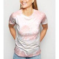 Pink Tie Dye Swirl T-Shirt New Look