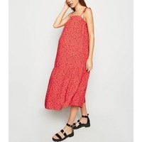 Maternity-Red-Ditsy-Floral-Tie-Strap-Midi-Dress-New-Look