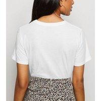 Petite White Organic Cotton T-Shirt New Look