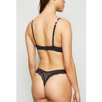 Brown Leopard Print Thong New Look