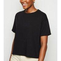 Black-Boxy-Crop-TShirt-New-Look