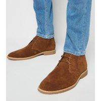 Tan Suedette Desert Boots New Look