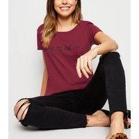 Plum Living My Best Life Slogan T-Shirt New Look