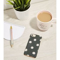 Black Daisy Case for iPhone 6/6s/7/8 New Look