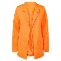 Urban Bliss Bright Orange Neon Blazer New Look