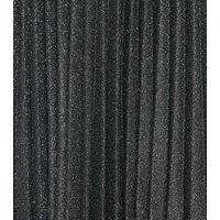 Petite Grey Glitter Pleated Midi Skirt New Look