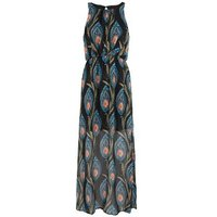 Mela Black Paisley Floral Maxi Dress New Look