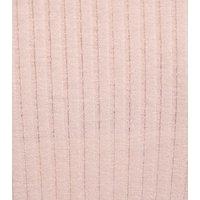 Girls Pale Pink Frill Trim Long Sleeve T-Shirt New Look