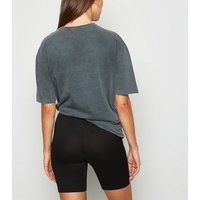 Brave Soul Black Soft Touch Cycling Shorts New Look
