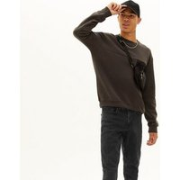 Black Dark Washed Skinny Stretch Jeans New Look