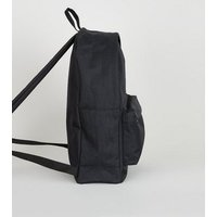 Black Shell Backpack New Look