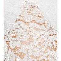 Urban Bliss White Lace Bustier Maxi Dress New Look