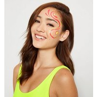Multicoloured Neon UV Face and Body Paint Kit New Look