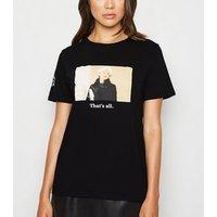 Black The Devil Wears Prada Slogan T-Shirt New Look