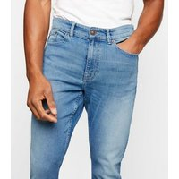 Blue Skinny Stretch Jeans New Look