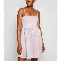 Carpe Diem Pink Strappy Mini Dress New Look