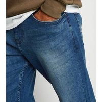 Blue Straight Jeans New Look