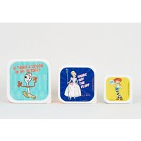 Disney Multicoloured Toy Story Slogan Lunch Boxes New Look