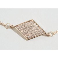 Affinity Rose Gold Cubic Zirconia Choker New Look