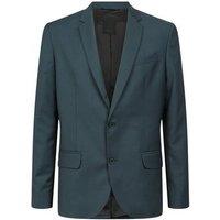 Dark Green Suit Jacket New Look
