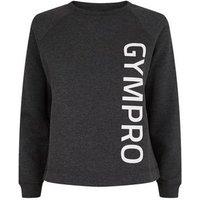 GymPro Pale Grey Sports Logo Sweatshirt New Look