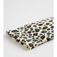 Brown Leopard Print Sunglasses Case New Look