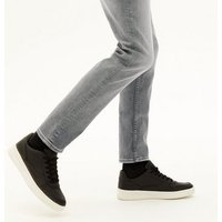 Pale Grey Slim Stretch Jeans New Look