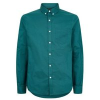 Teal Woven Long Sleeve Oxford Shirt New Look