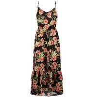 Black-Tropical-Floral-Dip-Hem-Beach-Maxi-Dress-New-Look