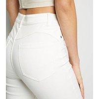 White 'Lift & Shape' Jenna Skinny Jeans New Look