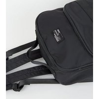 Black Shell Sports Backpack New Look