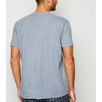 Grey Overdyed Get Over It Slogan T-Shirt New Look