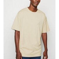 Stone Crew Oversized Heavy Cotton T-Shirt New Look