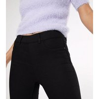 Petite Black Lift and Shape Jeggings New Look