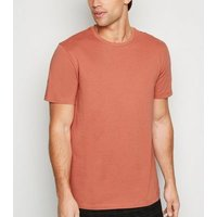 Orange Crew Neck T-Shirt New Look