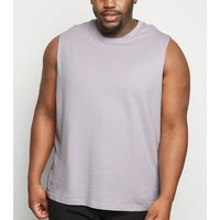 Plus Size Lilac Tank Top New Look