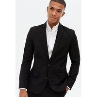 Black Skinny Fit Suit Jacket New Look