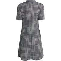 Tall Grey Check Swing Dress New Look