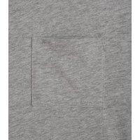 Girls Grey Pocket Front T-Shirt New Look