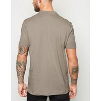 Pale Grey Short Sleeve Polo Shirt New Look