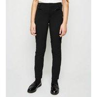 Girls Black Skinny Trousers New Look